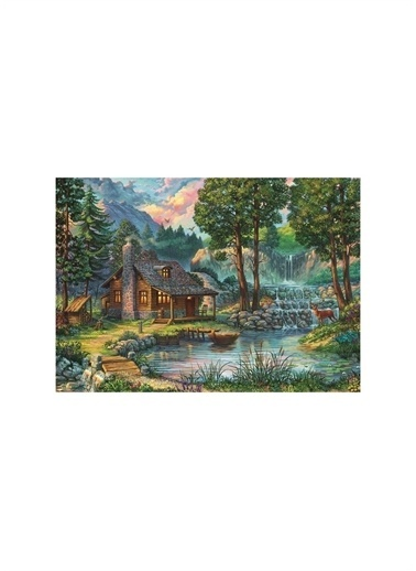 Art Puzzle Art Puzzle Masal Evi 1000 Parça Kutu Puzzle  Renksiz